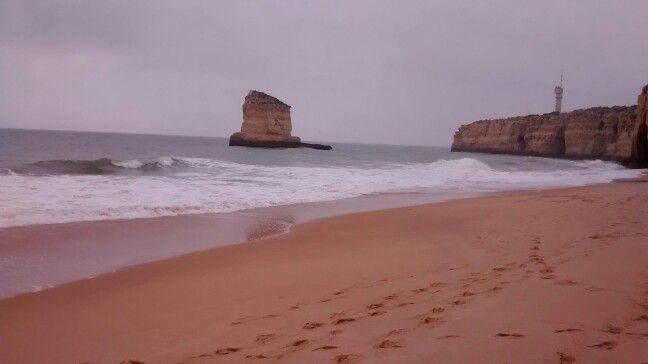 Cloudy day in praia dos Caneiros