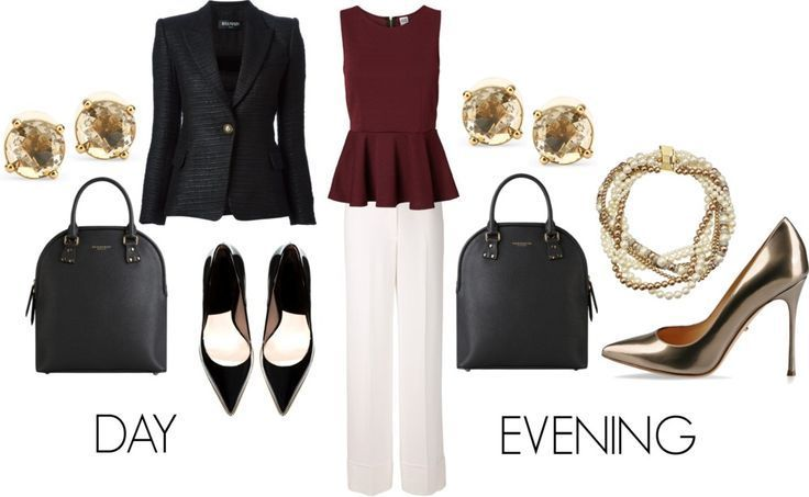 "nice Inspiration look ""Day to night"" : awesome Inspiration look ""Day to night"" : Five Day to Night Outfits fo..."