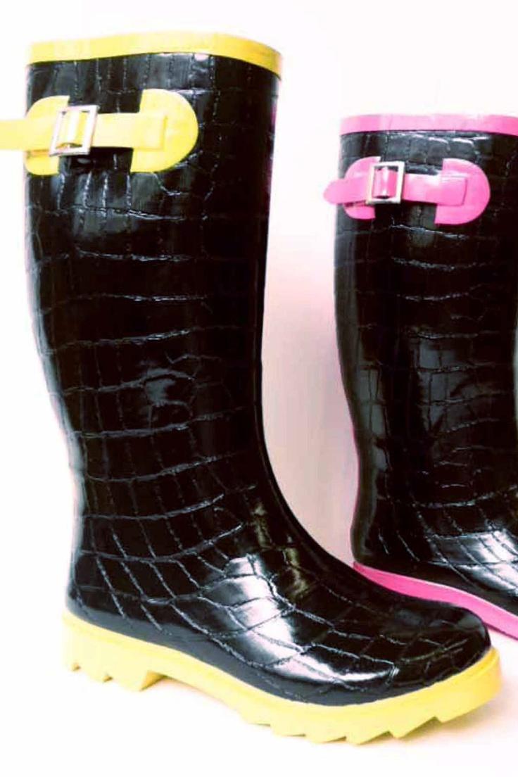 cute rain boots. It is so hard to find cute rain boots too. $19.99