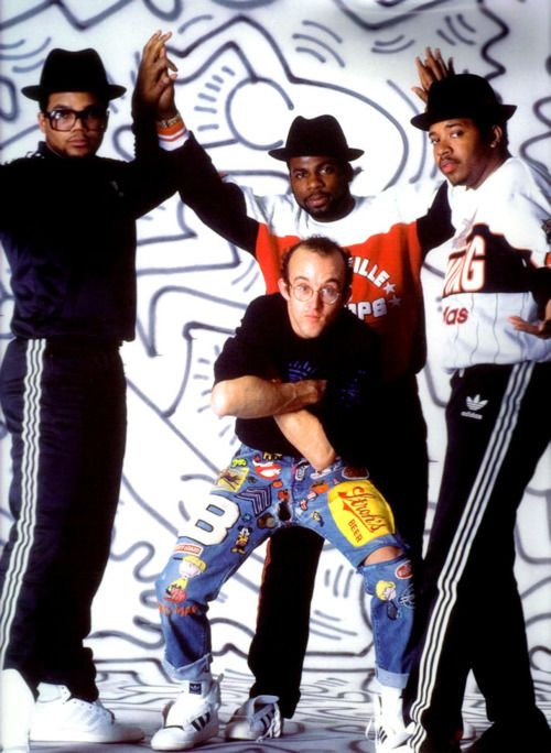 Keith Haring & RUN DMC