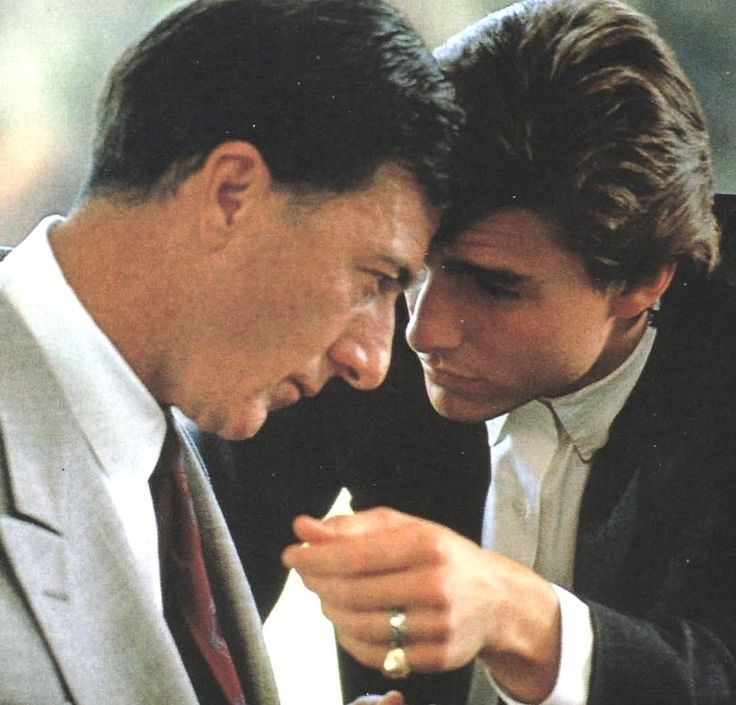 This is legit one of my favorite movies ever. Dustin Hoffman and Tom Cruise, Rain Man.