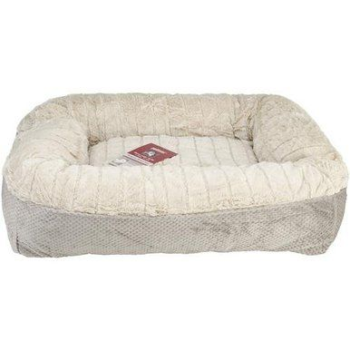 Petlinks System Memory Lounger Pet Deluxe Bolstered Bed Foam Machine Washable