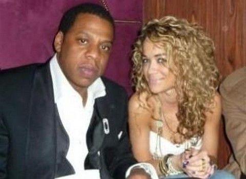Jay-Z and Rita Ora