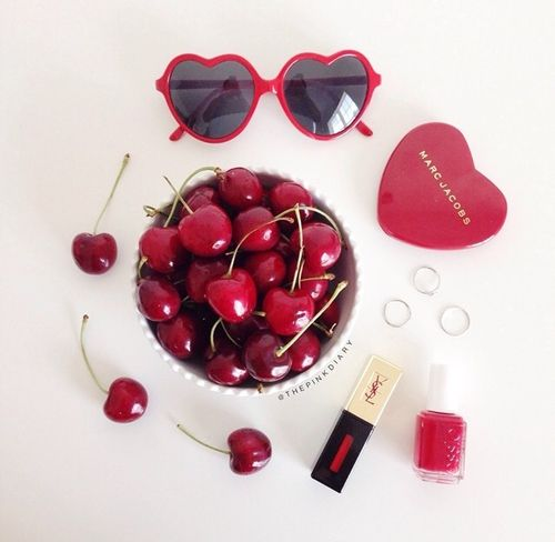 Imagem de cherry, marc jacobs, and red