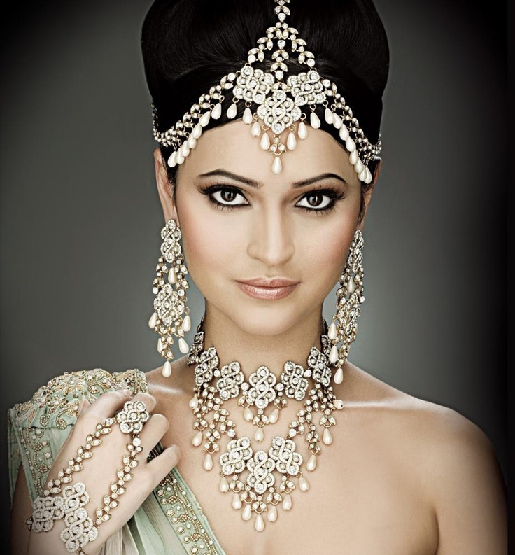 Indian wedding headdress