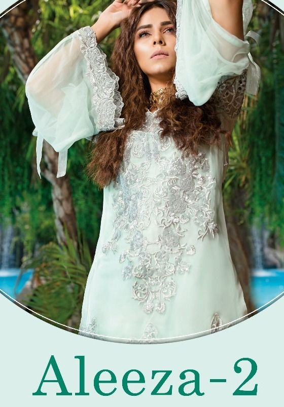 Aleeza Vol 2 by Deepsy Suits Heavy Designer Pakistani Style Poly Georgette  with Heavy Embroidery and Handwork Dress Material Collection at Wholesale  Rate 9ce860d823