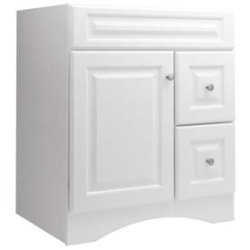 Style selections northrup 30 in x 21 in white traditional bathroom vanity blissst pinterest for 30 x 21 bathroom vanity white