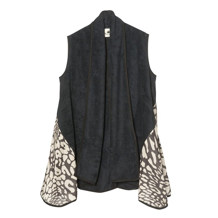 Sea Leopard Black | Lolita Vest - Sun of a Beach