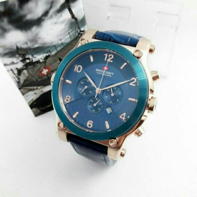 Saya menjual Jam Tangan Pria Swiss Navy SN 8309 Rosegold Leather Original Murah seharga Rp800.000. Dapatkan produk ini hanya di Shopee! https://shopee.co.id/azshop30/246237438 #ShopeeID