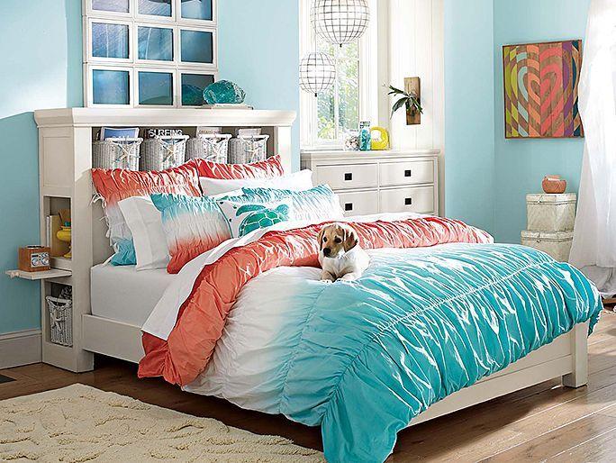 Oxford Dip Dye Bedroom Designed By pottery barn kids via Stylyze. Best 25  Dolphin bedroom ideas on Pinterest   A dolphin  Dolphin