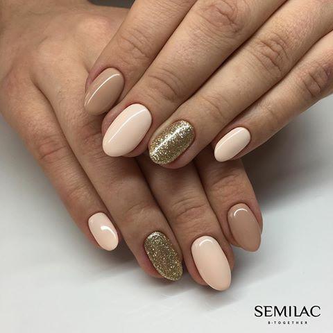 Wykorzystane kolory: 037 Gold Disco, 138 Perfect Nude, 162 Creamy Cookie ♥️ Jak Wam się podoba takie połączenie? snapchat: semilac #semilac #semigirls #semilacnails #lakiery #paznokcie #nudenails #lakieryhybrydowe #paznokciehybrydowe #nailstagram #nail2inspire #nailsdone #nails #akademiasemilac #akademiasemilacrafalmaslak #warsaw #nailart #snapchat