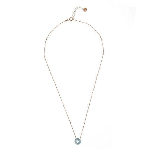 YC Jewels by Yolanthe Cabau - YC Faith Blue Necklace - YCJ8017 - YC Jewels