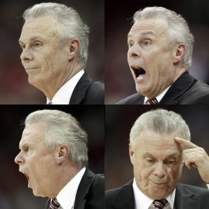 Bo Ryan - Head Coach, Wisconsin Men's Basketball. one of the most underated coaches in the country.