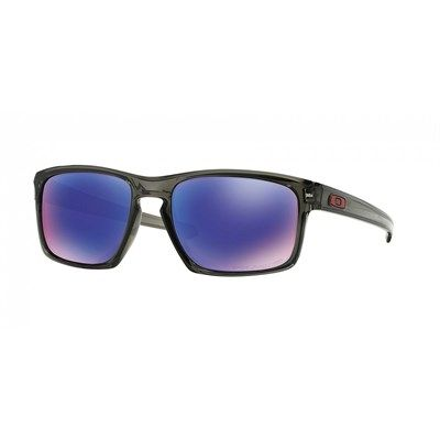 Óculos de Sol Oakley Sliver Cinza Translúcido com Lente Violeta Polarizada  - OO9262L11 7e92cd72b7