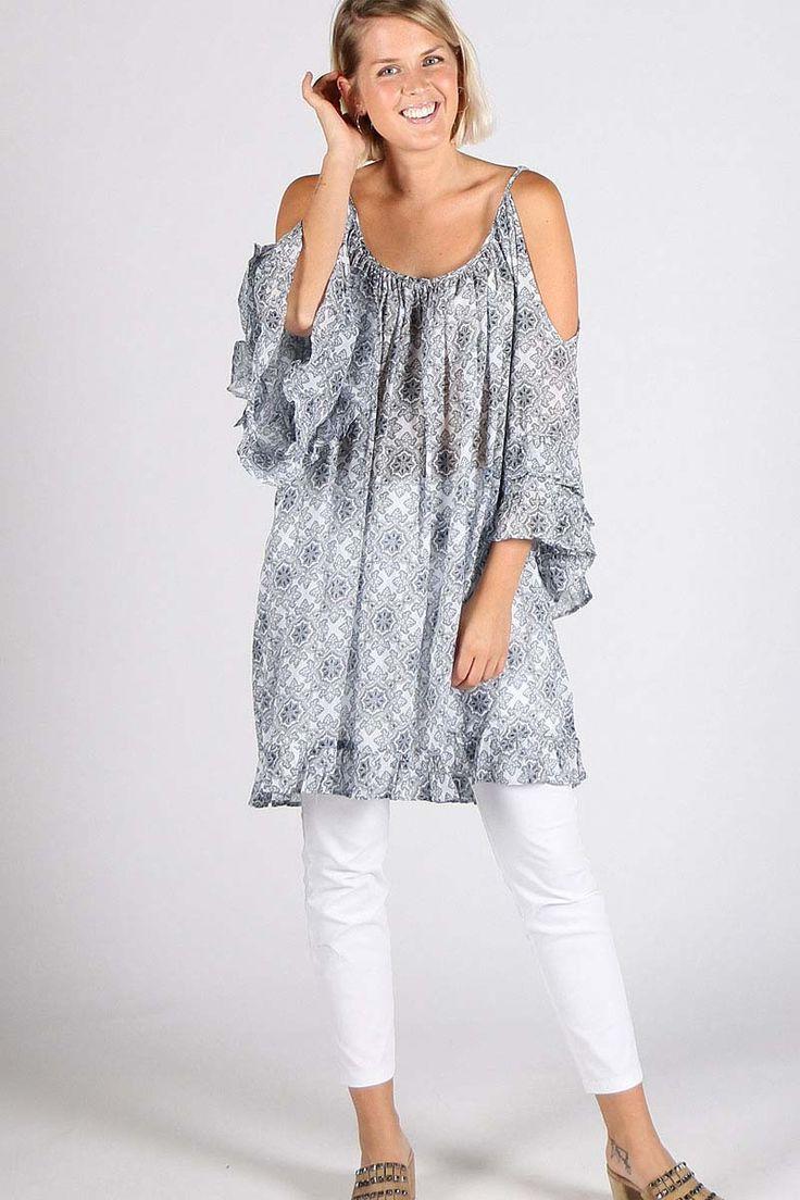 Verge - Maisie Dress By Verge In Print