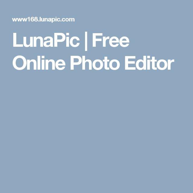 LunaPic | Free Online Photo Editor