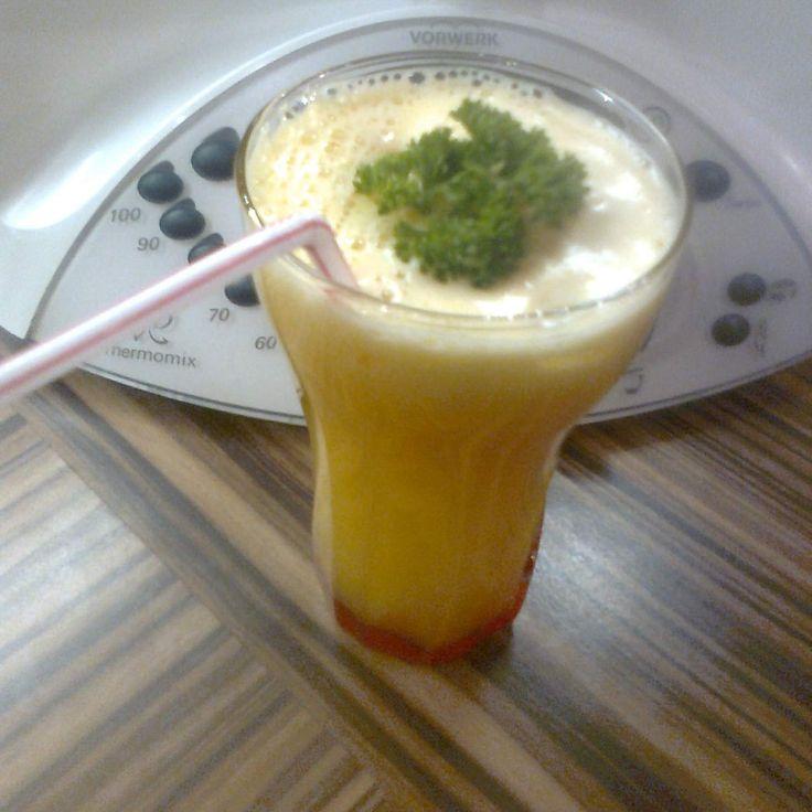 Recept Mandarinkový džus s vodkou od zuzka@dvk.cz - Recept z kategorie Nápoje