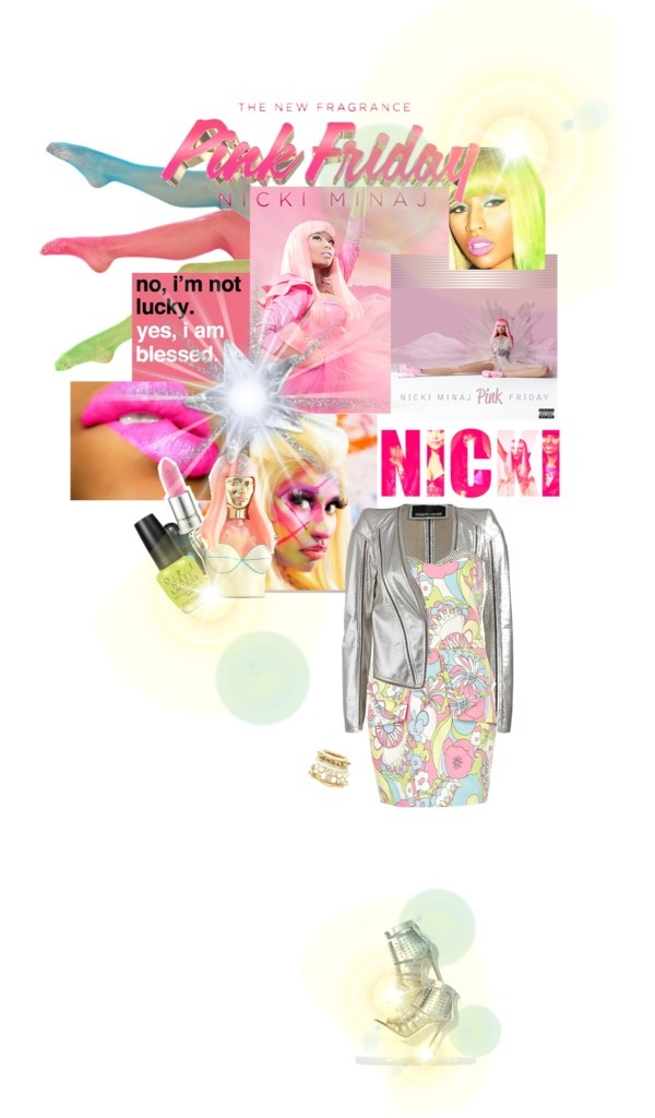 """""""Totally Blessed with Pink Friday Nicki Minaj"""" by tophercouture on Polyvore"""