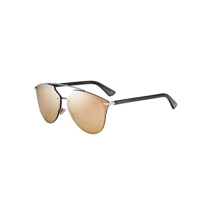 Gafas de Sol DIOR REFLECTED P PIXEL Palladium transparent black - Gold
