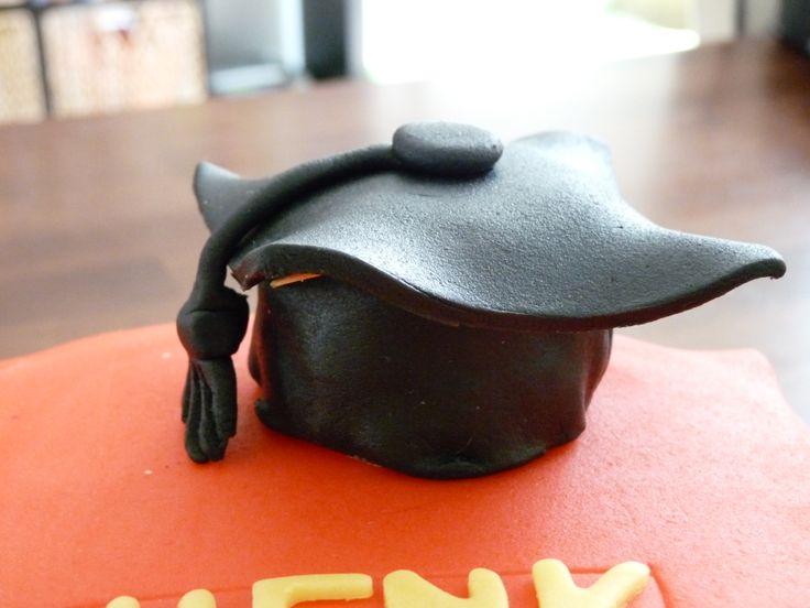 Geslaagd hoed van #marsepein