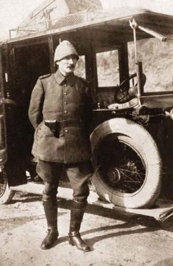 1881-1915 yılları arası Atatürk albümü. Gelibolu, Çanakkale, 1915