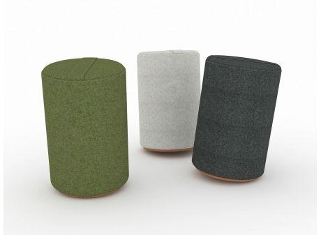 K2 Seat // ergonomisk puf. Design: Friis & Moltke.