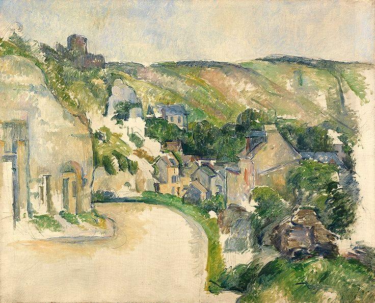 Paul Cézanne, A Turn in the Road at La Roche-Guyon, c.1885