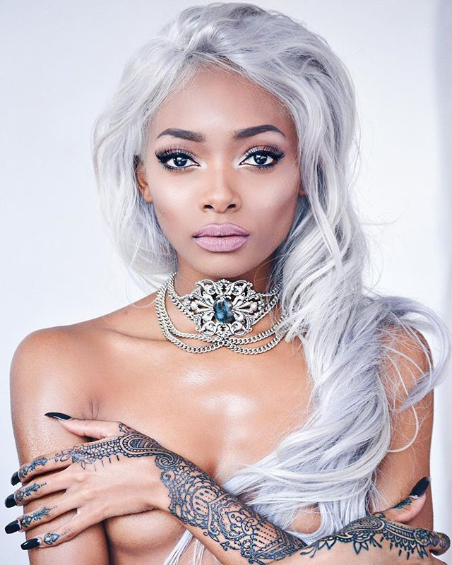Nyané Lebajoa- I admire her quite frankly because not only is she bold but she epitomizes the type of comfort I want to have in my own skin. I respect her courage.