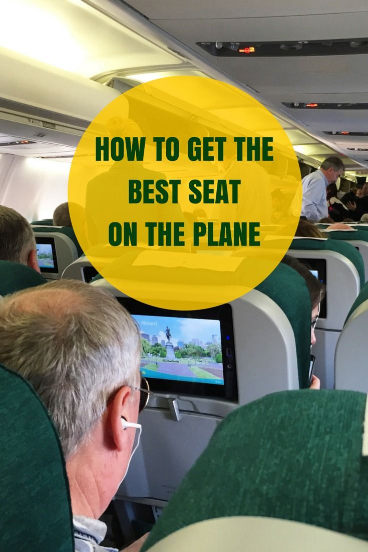 How to Get the Best Seat on the Plane According to Your Needs and Budget http://solotravelerblog.com/best-seat-on-the-plane/