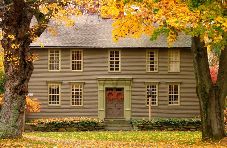 Best 25+ Colonial House Exteriors Ideas On Pinterest