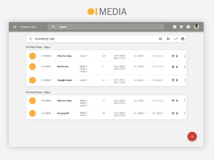 This is a screenshot of the Management Software made for OI Media. OI Media is an advertising software agency based in New Delhi. It was an awesome learning experience for us.   Looking for a help with your identity/brand? We would love to hear about your needs.  Email us at- connect@maxtroninnovations.com  Our website- www.maxtroninnovations.com