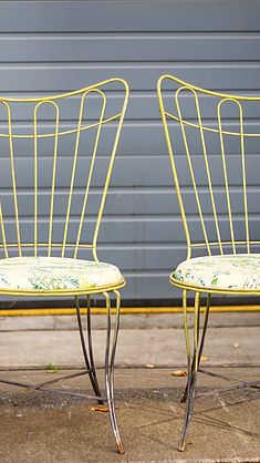 Pair Of Homecrest Chairs At The Urban Gardener.