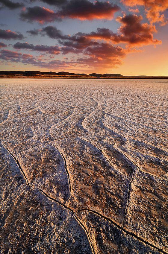 Salt Soil and Sunrise - Mary Kay: Landscape Photography (Copyright © 2013)