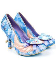 Faith in Dreams IRREGULAR CHOICE Cinderella Shoes. Part of the Irregular Choice x Disney's Cinderella collection: http://www.atomretro.com/22716 #irregularchoice #disney #cinderella #faithindreams #heels #shoes #atomretro #womensstyle #womensshoes