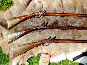 Lancaster County Pennsylvania Long Rifle.  The one at the top is almost exactly like mine