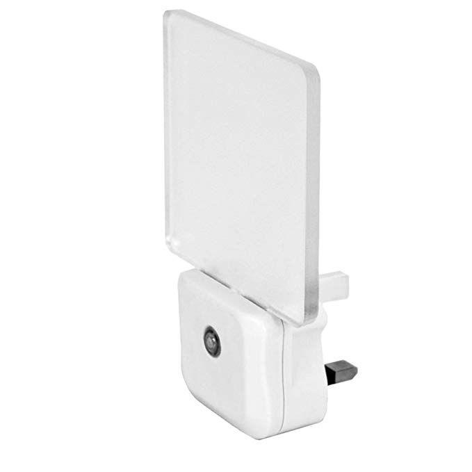 Integral Auto Sensor Led Night Light Uk 3 Pin Plug Review Led Night Light Night Light Lighting Uk