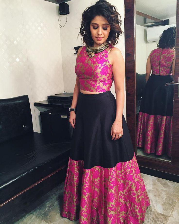 Today's look for the shoot #styledby @bharti.b_ #makeup @mishra.shikha #hair @kauser_shaikh