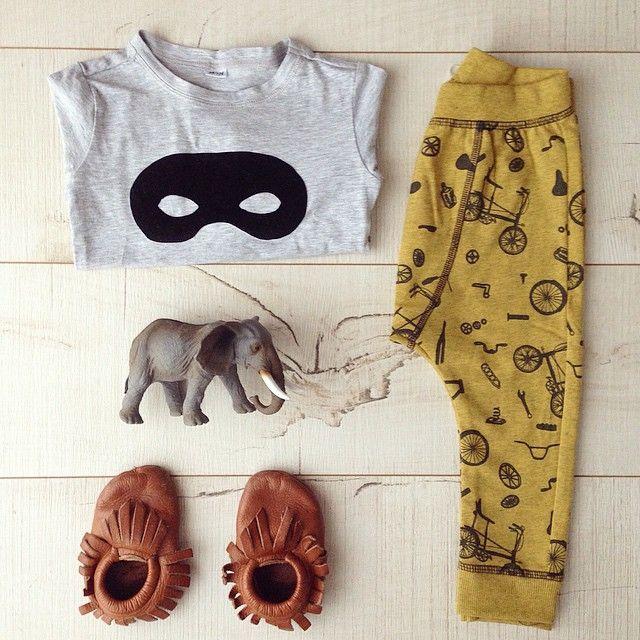 little rascal tot outfit: minnetonkas and zara
