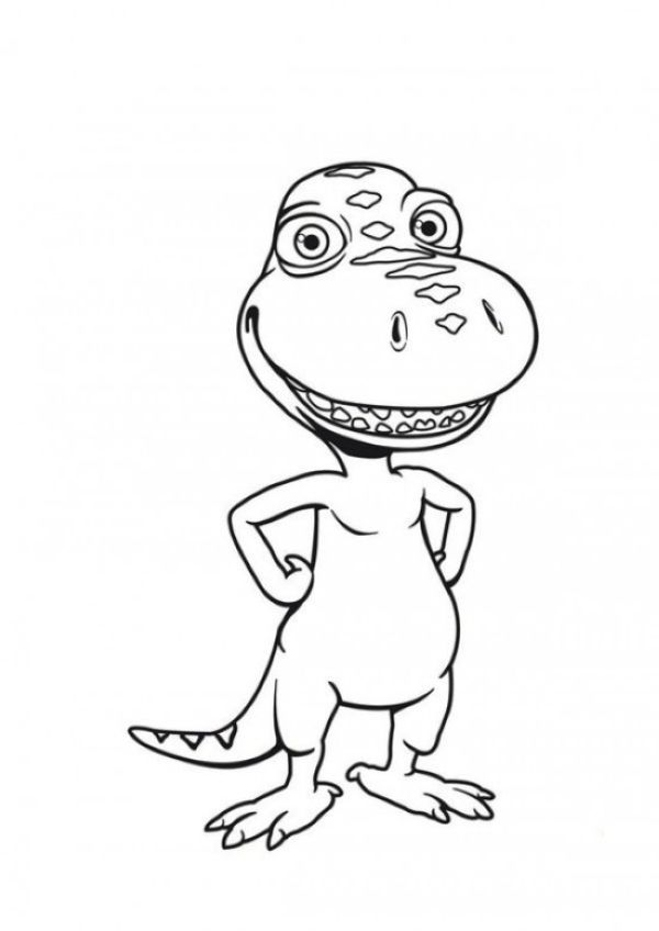 Free Dinosaur Train Coloring Pages Printable In 2020 Train Coloring Pages Dino Train Dinosaur Coloring Pages