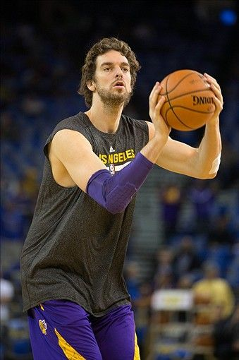 Los Angeles Lakers  Pau Gasol The greatest Spanish basketball player of all time