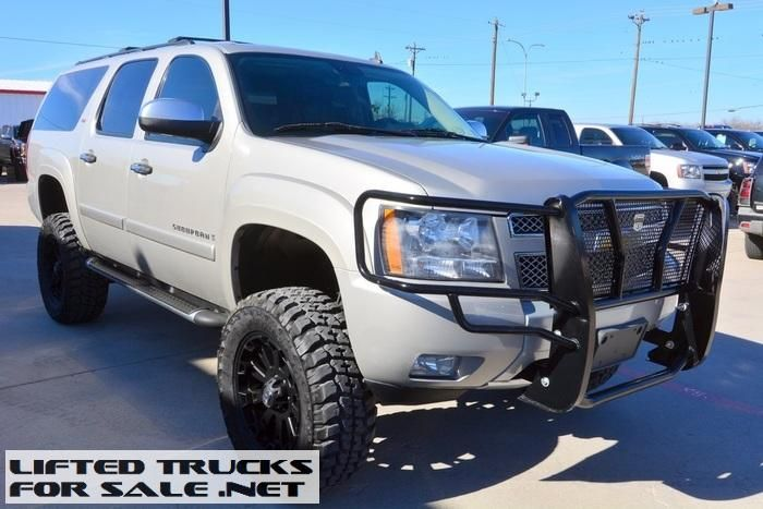 Chevy Avalanche 2016 >> 2008 Chevrolet Suburban 1500 LT Z71 Lifted   Lifted Chevy Trucks For Sale   Chevrolet suburban ...