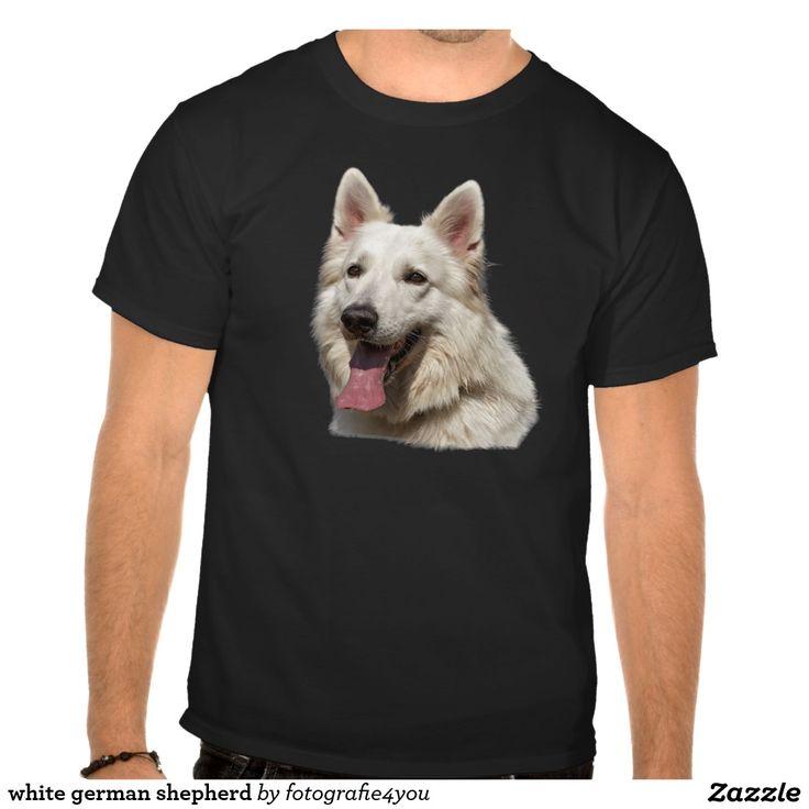 witte Duitse herder T-shirt