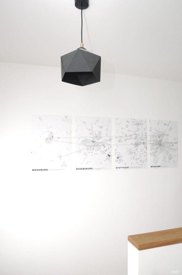 individualisierte Stadtpläne als Poster