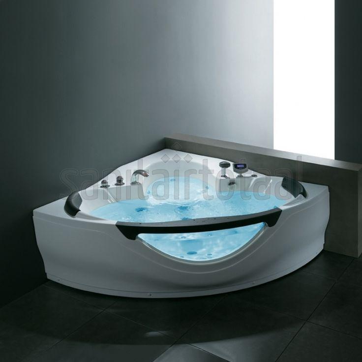 Whirlpool Baden Badkamer ~   badkamer, badkamer inspiratie, badkamer ideeen, whirlpool badkamer