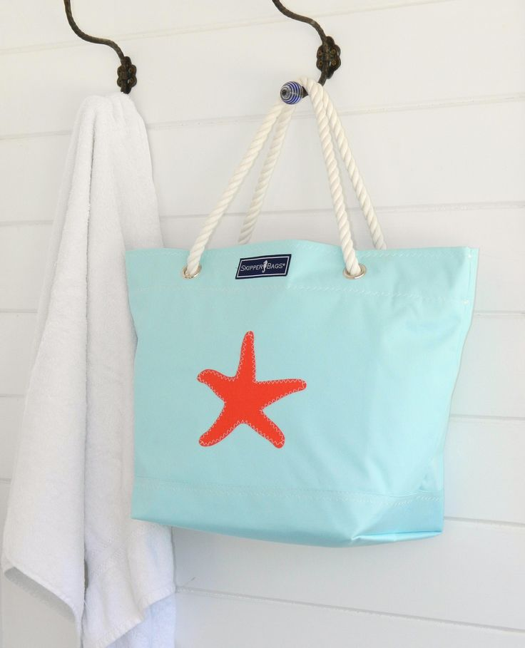 Starfish Tote by Skipper Bags. Made in USA.