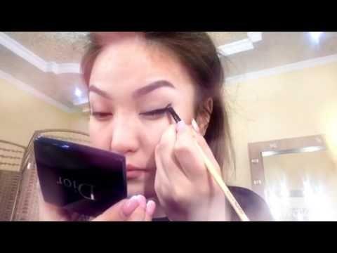 О макияже: #Видео. #какправильнонарисоватьстрелкинаглазах