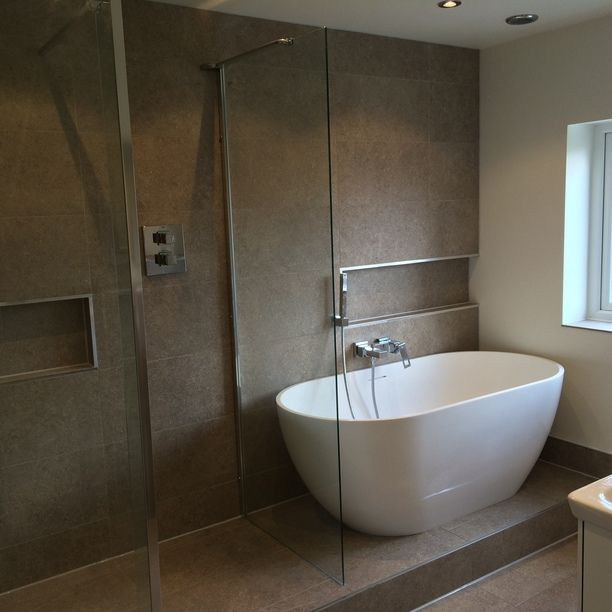 Photo Of Freestanding Bath Installation in Leeds a project by UK Bathroom Guru See more
