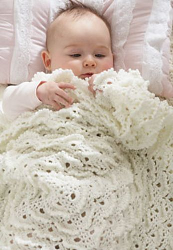 Fluffy Meringue Blanket pattern