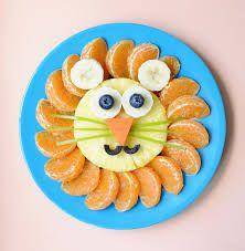 Resultado de imagen para presentacion comida niños