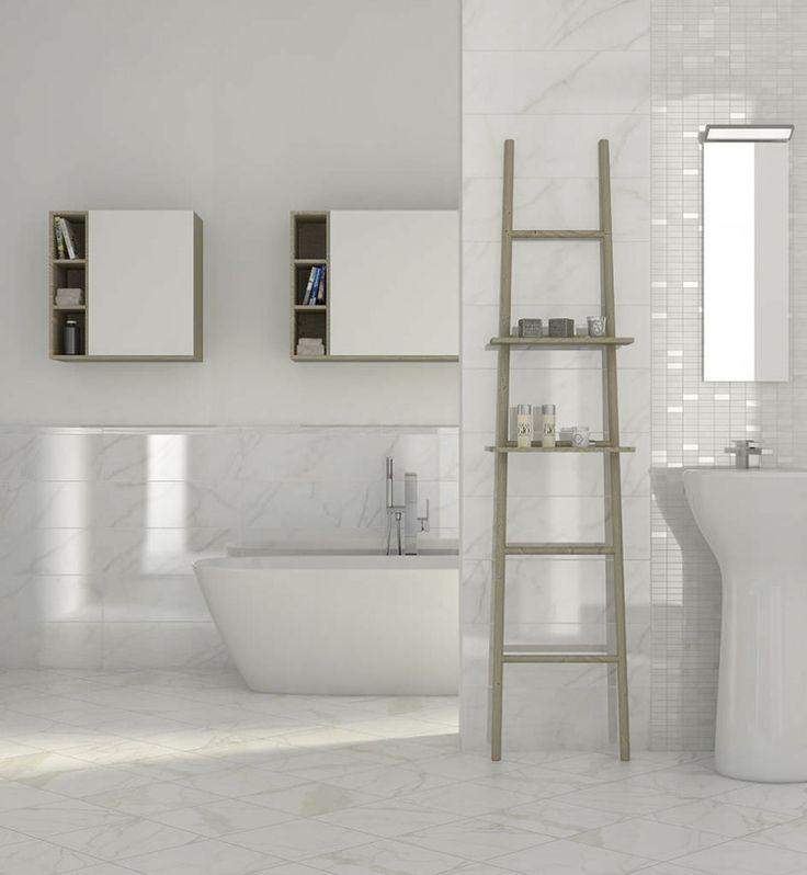 Bathroom Awesome Simply Bathrooms Lovely Elegant White Bathroom – White Porcelain Tile Bathroom